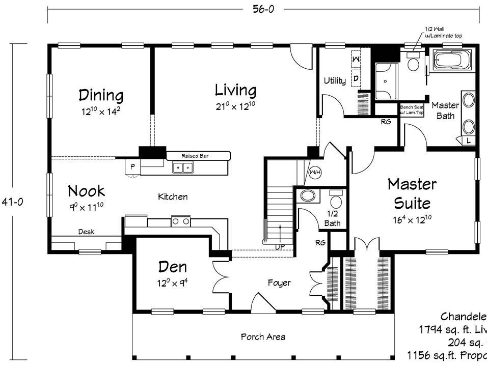 Floor Plans – Chandeleur Mobile Home Floor Plans